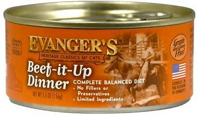 Evanger's Classic Beef It Up Dinner Grain-Free Wet Cat Food-Le Pup Pet Supplies and Grooming