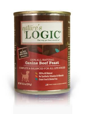 Nature's Logic Canine Beef Feast Grain-Free Wet Dog Food-Le Pup Pet Supplies and Grooming