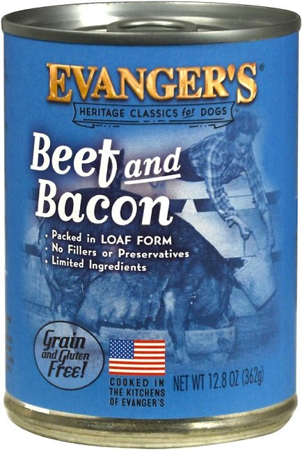 Evanger's Classic Beef & Bacon Grain-Free Wet Dog Food-Le Pup Pet Supplies and Grooming