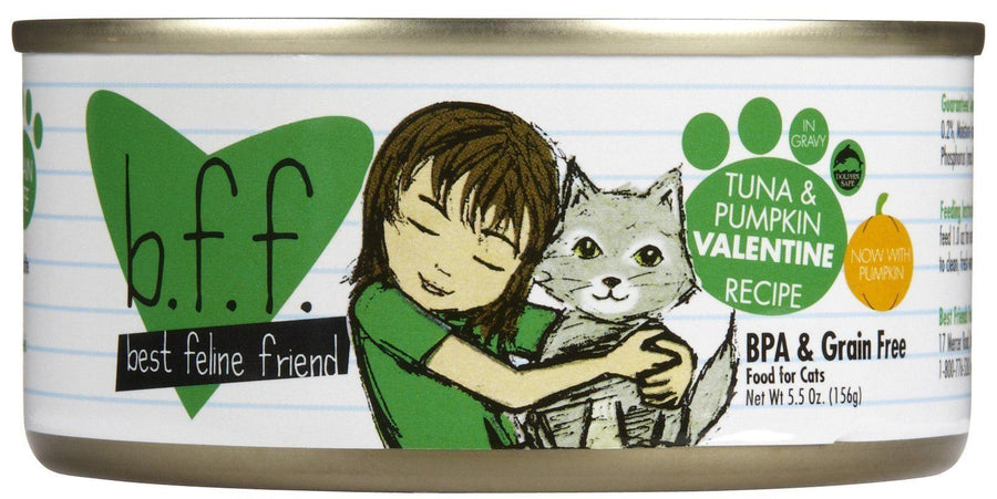 Weruva BFF Tuna & Pumpkin Valentine Grain-Free Wet Cat Food-Le Pup Pet Supplies and Grooming
