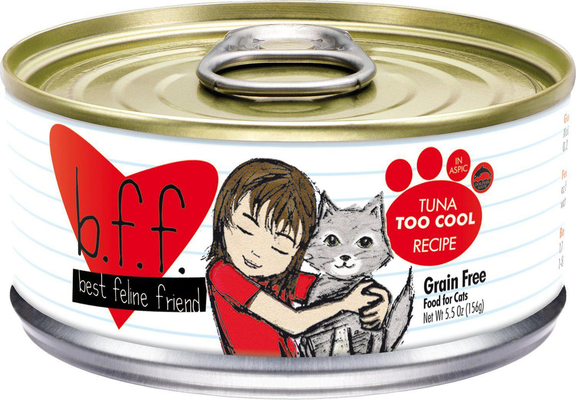 Weruva BFF Tuna Too Cool Grain-Free Wet Cat Food-Le Pup Pet Supplies and Grooming