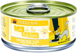 Weruva Cats In the Kitchen Chicken Frick 'A Zee Grain-Free Wet Cat Food-Le Pup Pet Supplies and Grooming