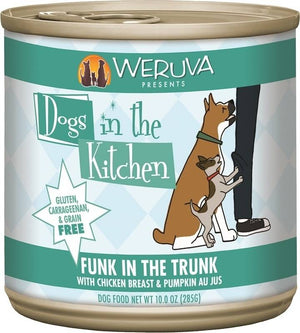 Weruva Dogs In the Kitchen Funk in the Trunk Grain-Free Wet Dog Food-Le Pup Pet Supplies and Grooming