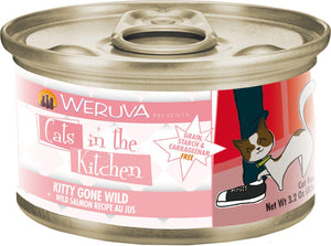Weruva Cats In the Kitchen Kitty Gone Wild Grain-Free Wet Cat Food-Le Pup Pet Supplies and Grooming