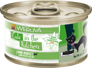 Weruva Cats In the Kitchen Lamb Burgini Grain-Free Wet Cat Food-Le Pup Pet Supplies and Grooming