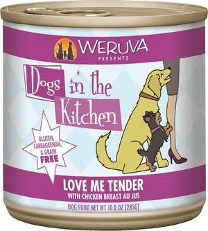 Weruva Dogs In the Kitchen Love Me Tender Grain-Free Wet Dog Food-Le Pup Pet Supplies and Grooming