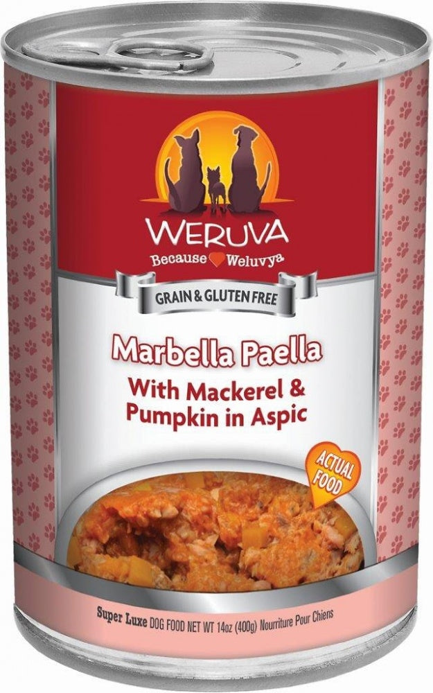Weruva Marbella Paella Grain-Free Wet Dog Food-Le Pup Pet Supplies and Grooming