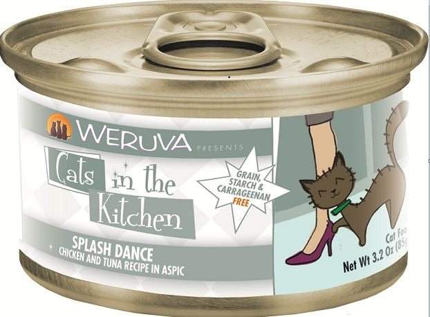 Weruva Cats In the Kitchen Splash Dance Grain-Free Wet Cat Food-Le Pup Pet Supplies and Grooming