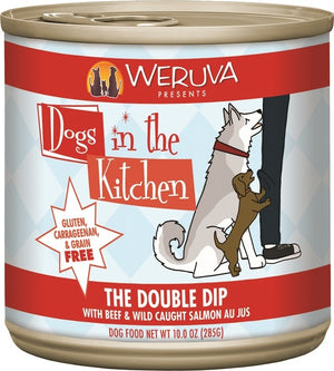 Weruva Dogs In the Kitchen The Double Dip Grain-Free Wet Dog Food-Le Pup Pet Supplies and Grooming