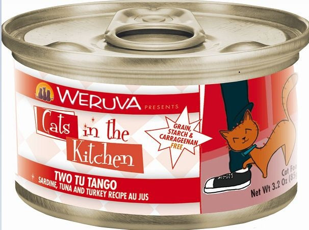 Weruva Cats In the Kitchen Two Tu Tango Grain-Free Wet Cat Food-Le Pup Pet Supplies and Grooming
