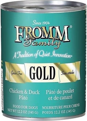 Fromm Grain-Free Chicken & Duck Pâté Wet Dog Food-Le Pup Pet Supplies and Grooming