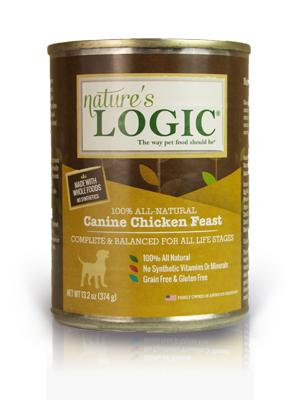 Nature's Logic Canine Chicken Feast Grain-Free Wet Dog Food-Le Pup Pet Supplies and Grooming