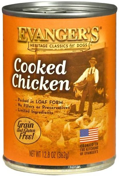 Evanger's Classic Cooked Chicken Grain-Free Wet Dog Food-Le Pup Pet Supplies and Grooming