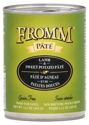 Fromm Grain-Free Lamb & Sweet Potato Pâté Wet Dog Food-Le Pup Pet Supplies and Grooming