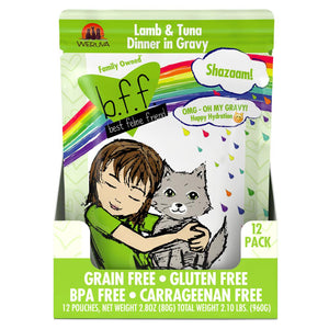 Weruva BFF Oh My Gravy Shazaam! Pouch Grain-Free Wet Cat Food-Le Pup Pet Supplies and Grooming
