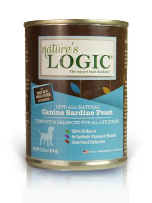 Nature's Logic Canine Sardine Feast Grain-Free Wet Dog Food-Le Pup Pet Supplies and Grooming