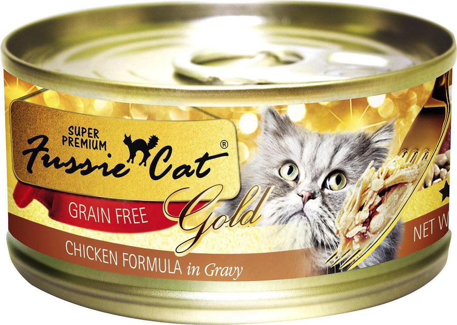 Fussie Cat Super Premium Chicken Formula in Gravy Grain-Free Wet Cat Food-Le Pup Pet Supplies and Grooming