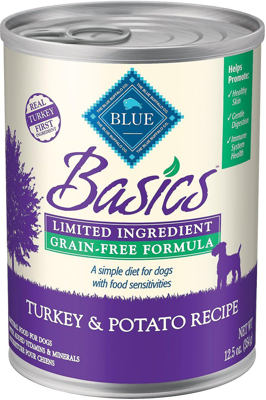 Blue Buffalo Basics Limited Ingredient Grain-Free Turkey & Potato Wet Dog Food-Le Pup Pet Supplies and Grooming