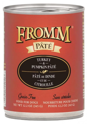 Fromm Grain-Free Turkey & Pumpkin Pâté Wet Dog Food-Le Pup Pet Supplies and Grooming