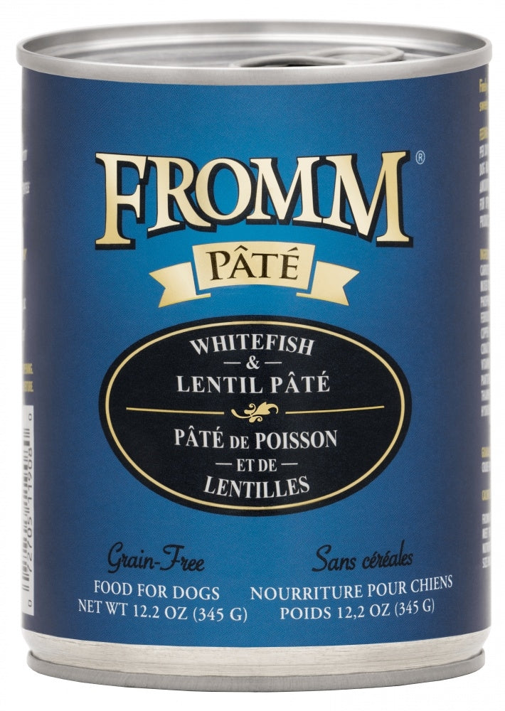 Fromm Grain-Free Whitefish & Lentil Pâté Wet Dog Food-Le Pup Pet Supplies and Grooming