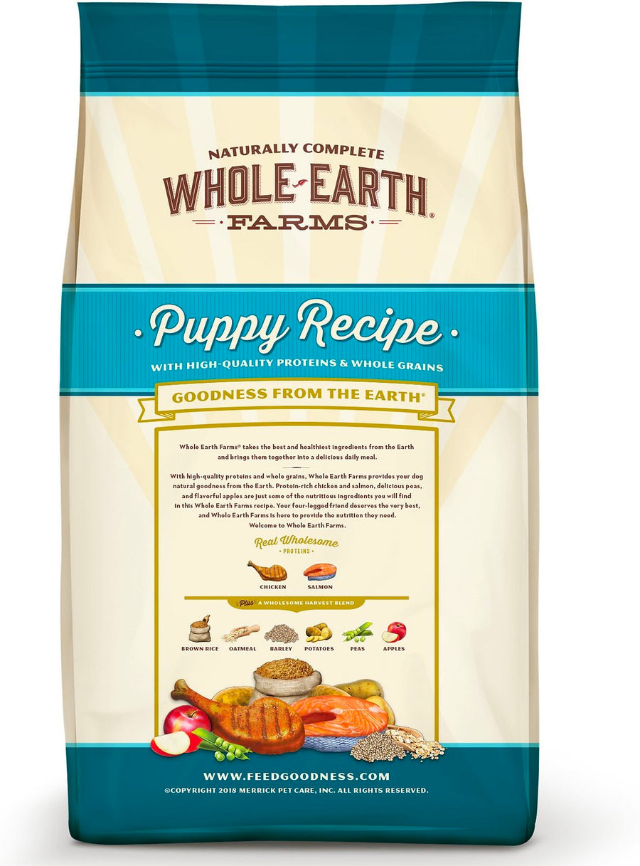 Whole Earth Farms® Goodness from the Earth™ Puppy Recipe with Whole Grains Dog Food