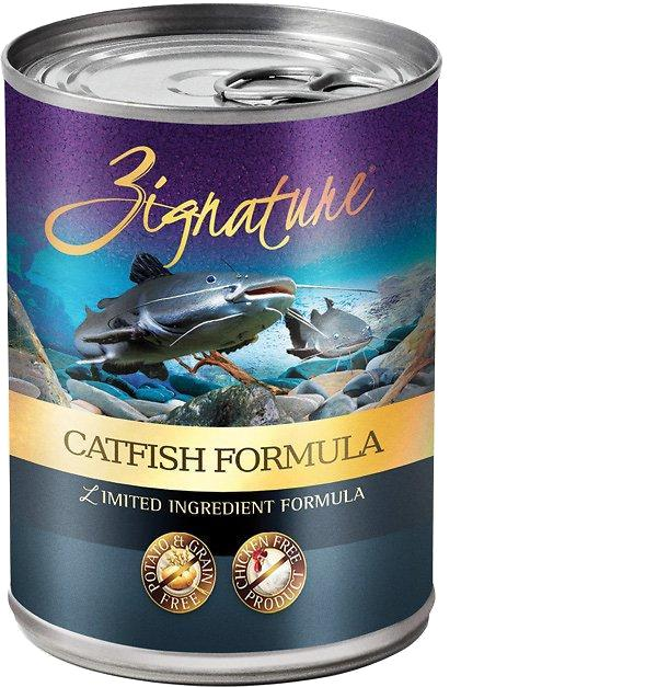 Zignature Catfish Limited Ingredient Formula Grain-Free Canned Dog Food-Le Pup Pet Supplies and Grooming