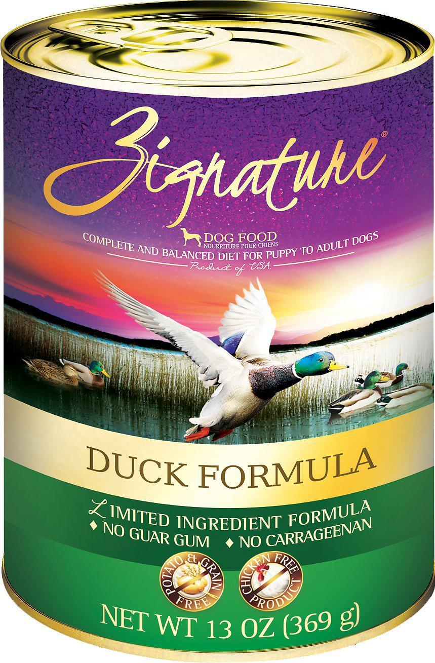 Zignature Duck Limited Ingredient Formula Grain-Free Canned Dog Food-Le Pup Pet Supplies and Grooming