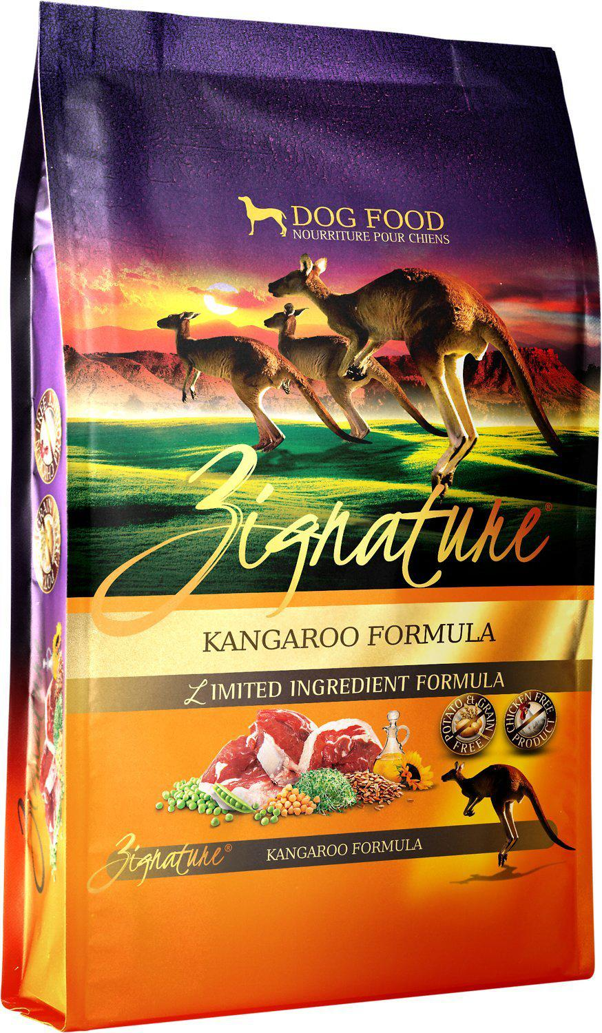 Zignature Kangaroo Limited Ingredient Formula Grain-Free Dry Dog Food-Le Pup Pet Supplies and Grooming