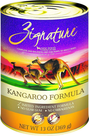 Zignature Kangaroo Limited Ingredient Formula Grain-Free Canned Dog Food-Le Pup Pet Supplies and Grooming