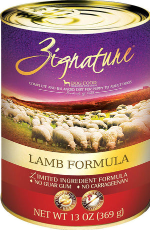 Zignature Lamb Limited Ingredient Formula Grain-Free Canned Dog Food-Le Pup Pet Supplies and Grooming