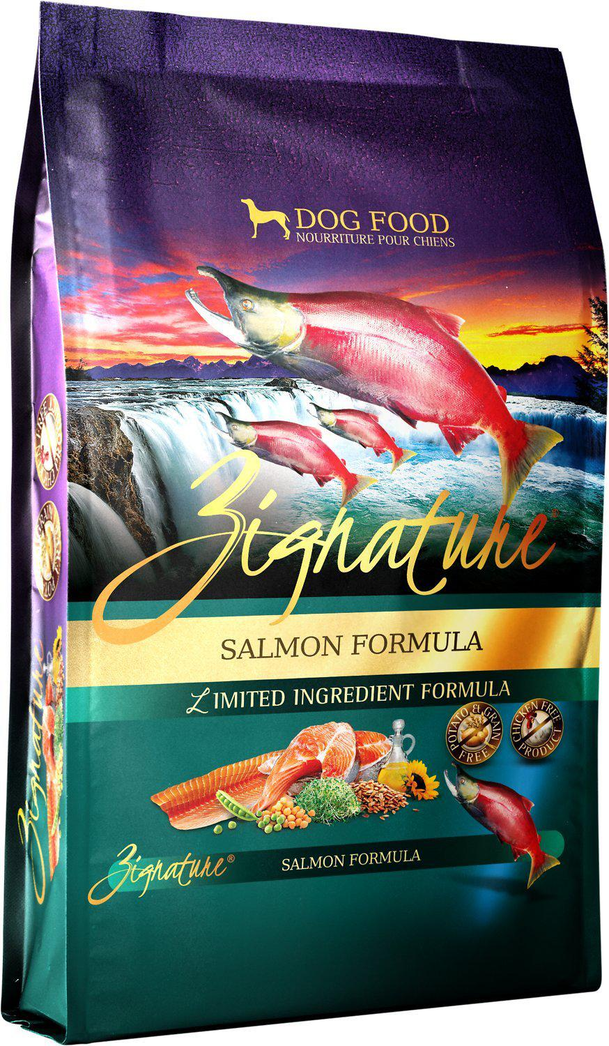 Zignature Salmon Limited Ingredient Formula Grain-Free Dry Dog Food-Le Pup Pet Supplies and Grooming