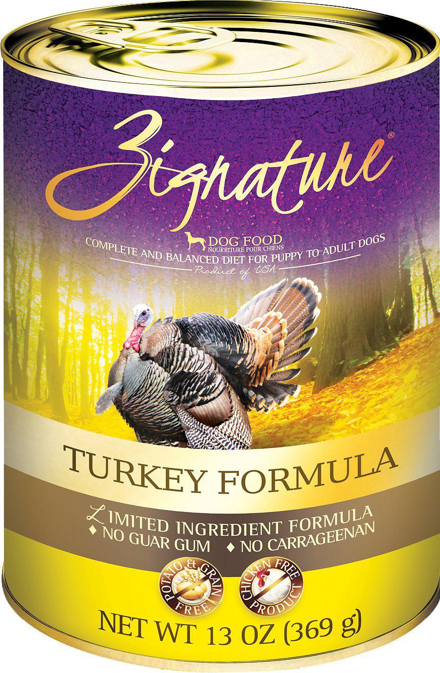 Zignature Turkey Limited Ingredient Formula Grain-Free Canned Dog Food-Le Pup Pet Supplies and Grooming