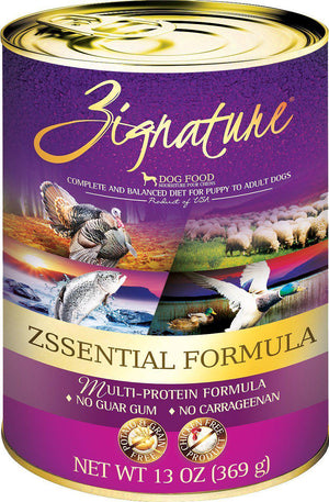 Zignature Zssential Multi-Protein Formula Grain-Free Canned Dog Food-Le Pup Pet Supplies and Grooming