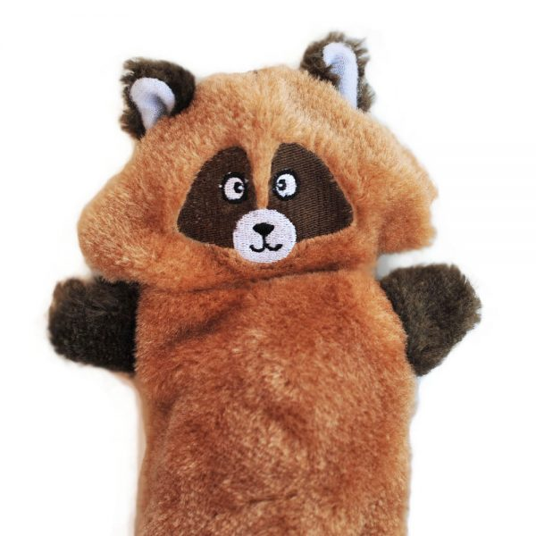 ZippyPaws Zingy Raccoon Dog Toy-Le Pup Pet Supplies and Grooming