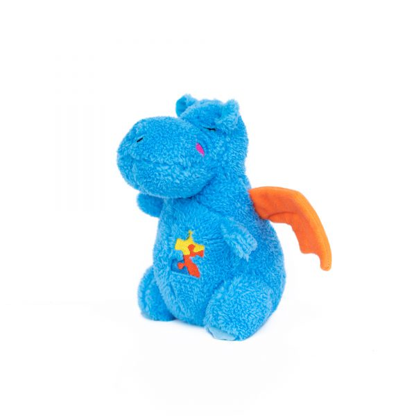 ZippyPaws Cheeky Chumz Drake the Dragon Dog Toy-Le Pup Pet Supplies and Grooming