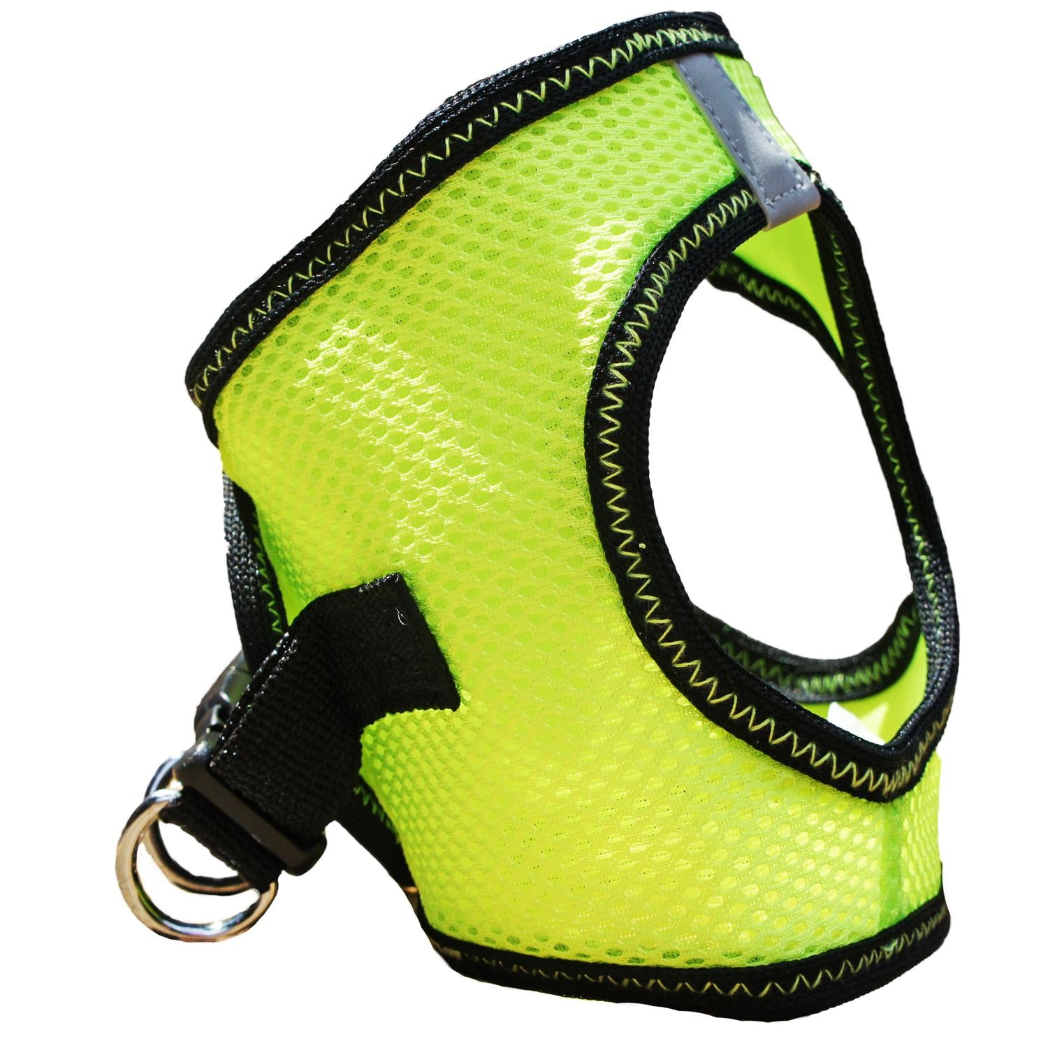 Doggie Design American River Choke Free Top Stitch Collection Dog Harness,  select