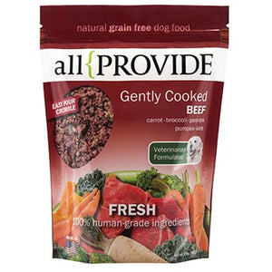 Allprovide Gently Cooked Beef Crumble Grain-Free Frozen Dog Food-Le Pup Pet Supplies and Grooming