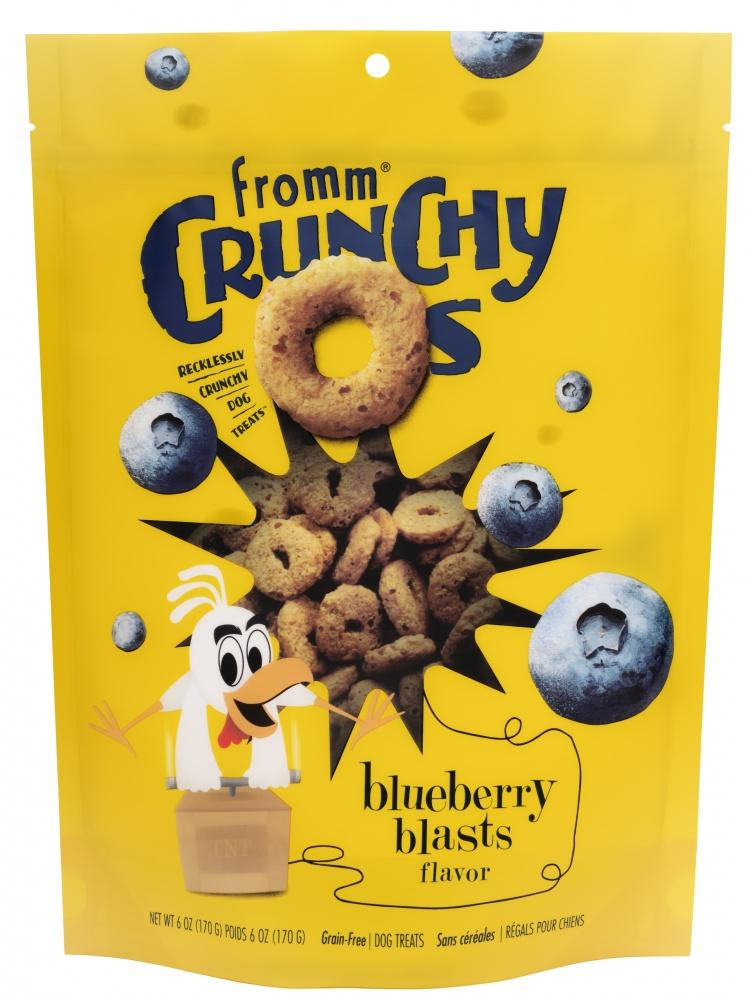 Fromm Crunchy O's Blueberry Blasts Dog Treats, 6oz-Le Pup Pet Supplies and Grooming