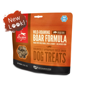Orijen Wild-Roaming Boar Formula Freeze-Dried Dog Treats-Le Pup Pet Supplies and Grooming
