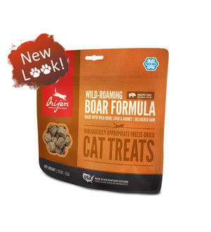 Orijen Wild-Roaming Boar Freeze-Dried Grain-Free Cat Treats-Le Pup Pet Supplies and Grooming