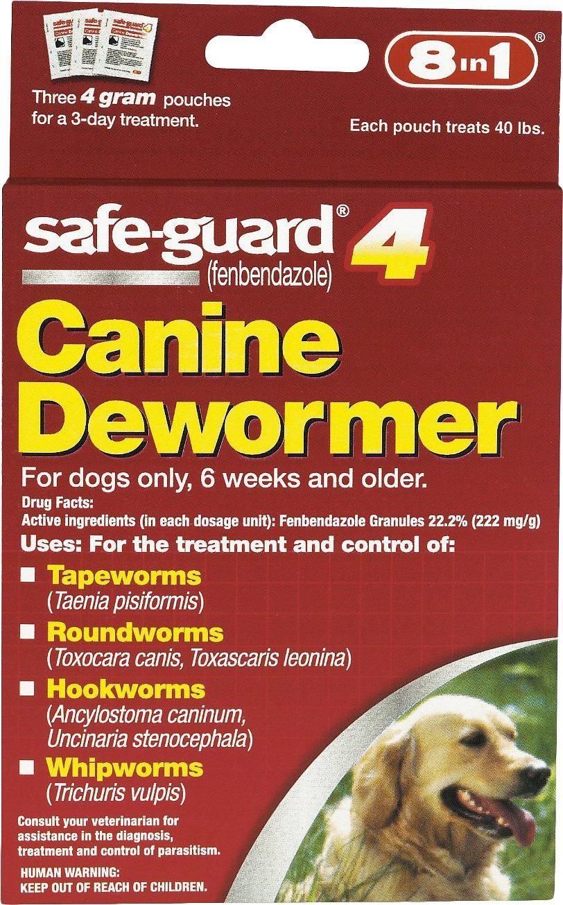 8in1 Safe-Guard 4 Canine Dewormer Large Dog Supply-Le Pup Pet Supplies and Grooming