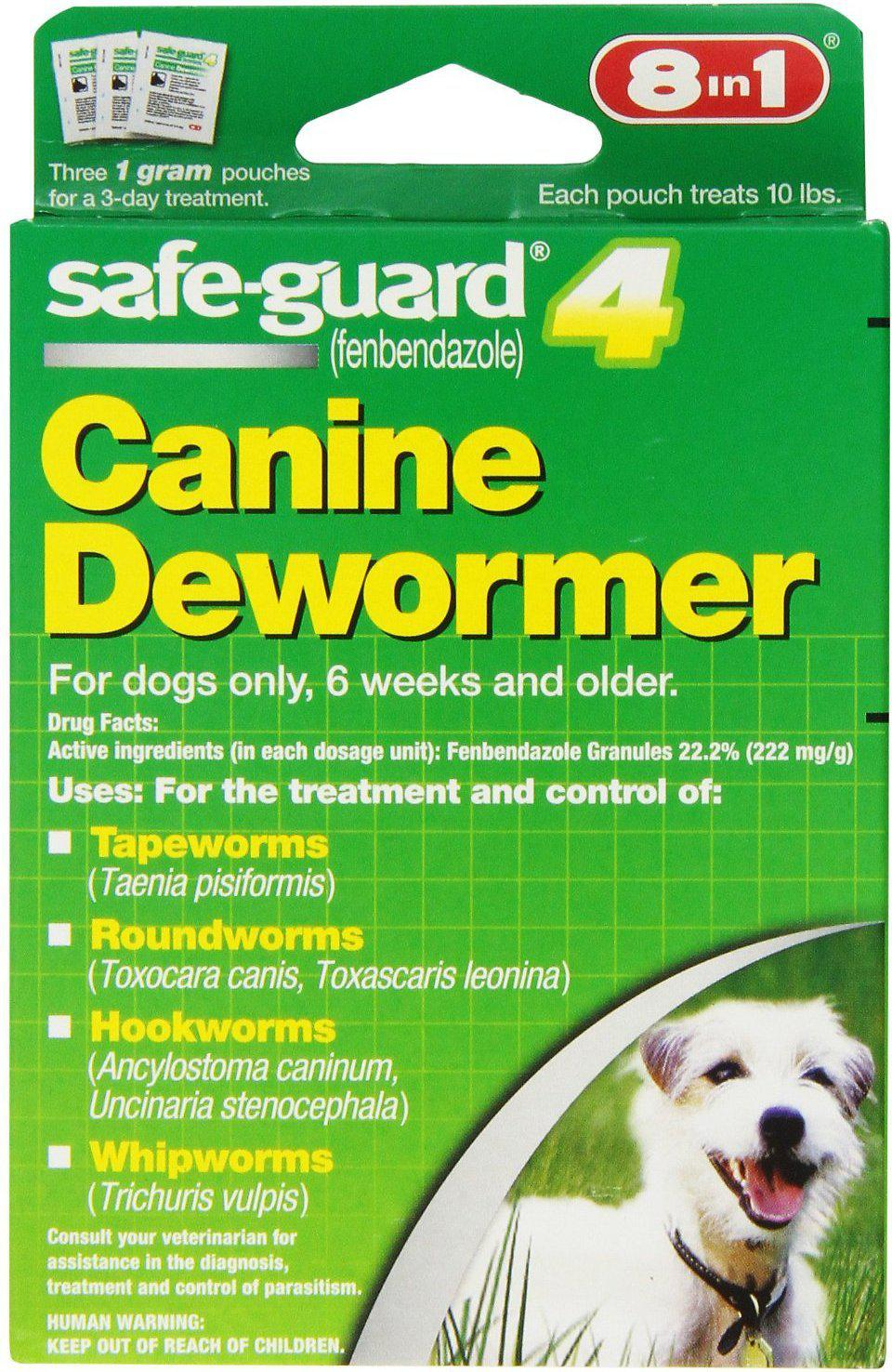 8in1 Safe-Guard 4 Canine Dewormer Small Dog Supply-Le Pup Pet Supplies and Grooming
