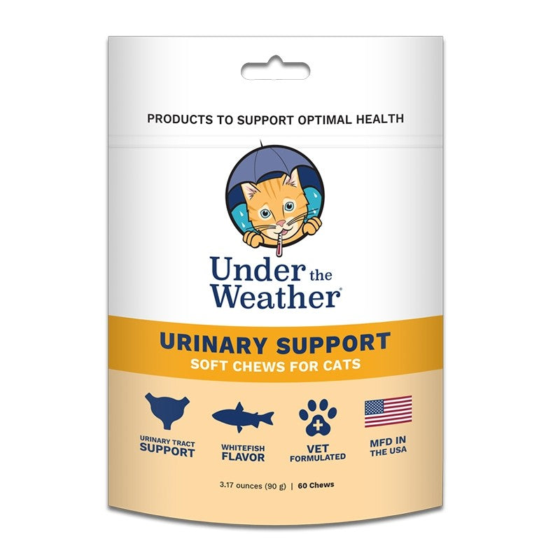 Under the Weather Urinary Support Soft Chews for Cats-Le Pup Pet Supplies and Grooming