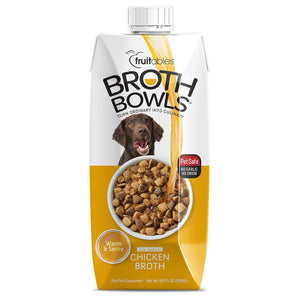 Fruitables Broth Bowls Chicken Wet Dog Food-Le Pup Pet Supplies and Grooming