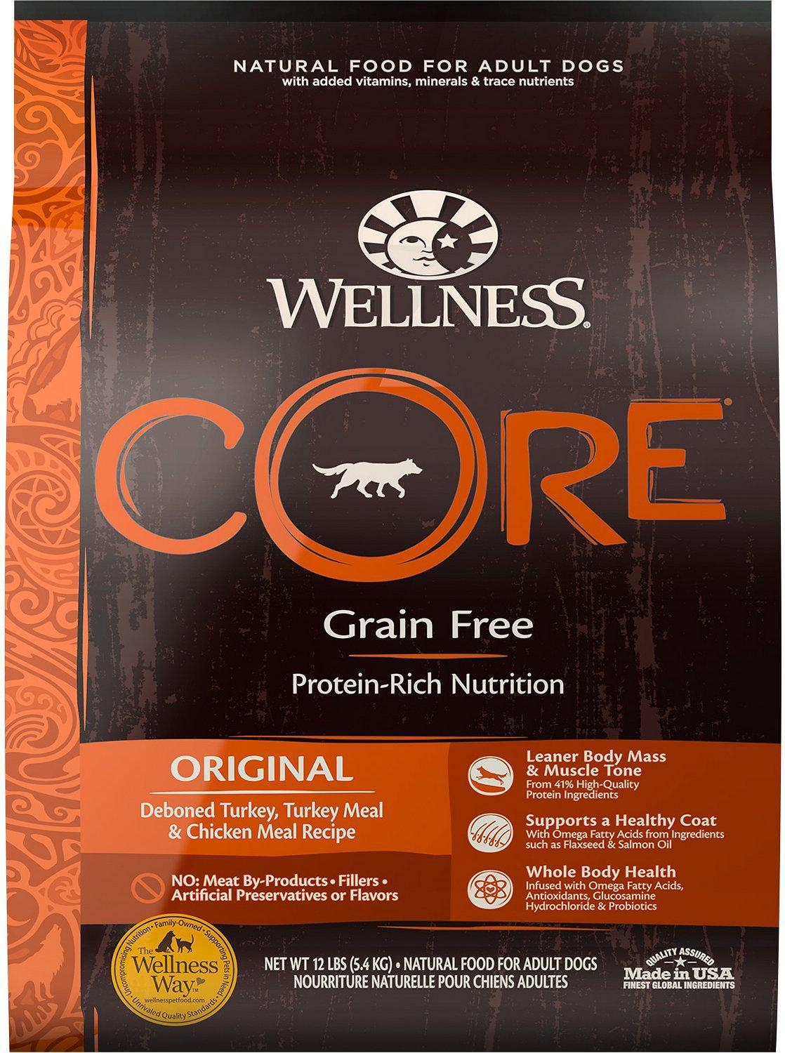 Wellness Core Original Grain Free Dry Dog Food-Le Pup Pet Supplies and Grooming