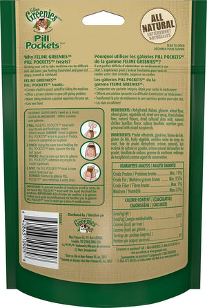 Greenies Pill Pockets Feline Chicken Flavor Cat Treats-Le Pup Pet Supplies and Grooming