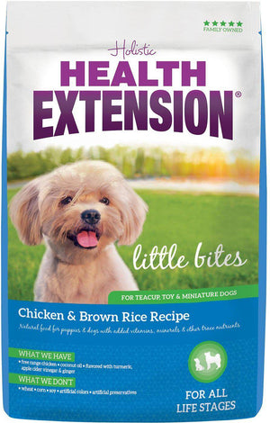 Health Extension Little Bites Chicken & Brown Rice Recipe Dry Dog Food-Le Pup Pet Supplies and Grooming