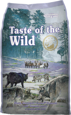 Taste of the Wild Sierra Mountain Recipe Grain Free Dry Dog Food-Le Pup Pet Supplies and Grooming