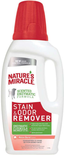 Nature's Miracle Stain & Odor Remover Melon Burst Dog Supply-Le Pup Pet Supplies and Grooming