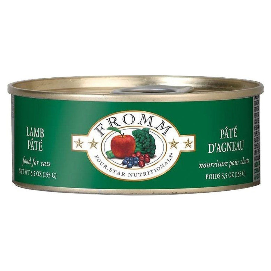 Fromm Four-Star Nutritionals Grain-Free Lamb Pâté Wet Cat Food-Le Pup Pet Supplies and Grooming